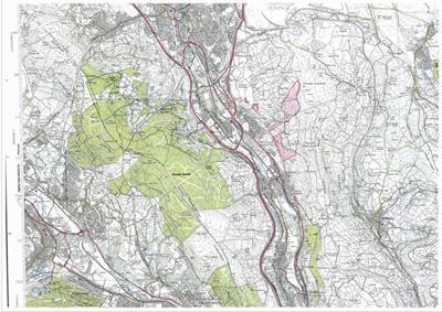 Various Parcels, Abercarnaid And Pentrebach Estate, Pentrebach, Merthyr Tydfil, CF48 4LA